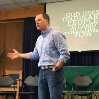 God has called you a mighty warrior -Chaplain John Boyer