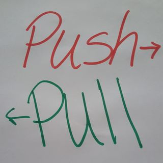Push/Pull - The Growing Pains of Showing Up Authentically