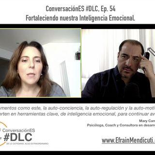 Episodio 54 - ConversaciónES #DLC con MaryCarmen Cornejo