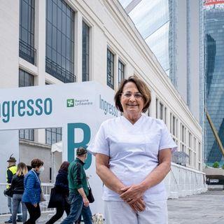 Episodio 114 – Carmela Rozza infermiera volontaria ai centri vaccinali – 5 mag 2021