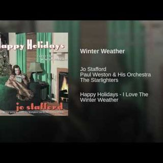 Jo Stafford - Winter Weather