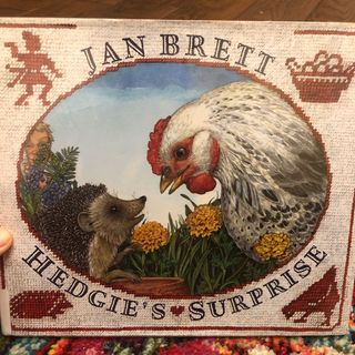Hedgies Surprise by Jan Brett