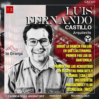 E12 Arquitecto Luis Fernando Castillo La Granja Fab Lab Quetzaltenango Guatemala