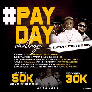 Public Announcement For PayDay Challenge