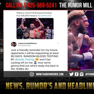 ☎️Jullian Williams vs Jarrett Hurd II🔥Dec 14, Barclays Center. Who Ya Got❓😈