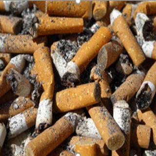 contaminación por colillas de cigarrillo