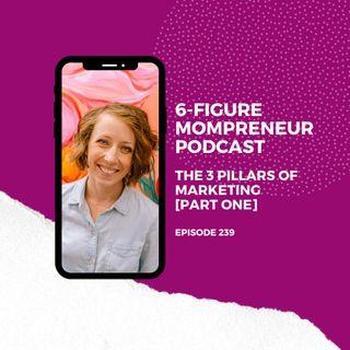 The 3 pillars of marketing [PART ONE]