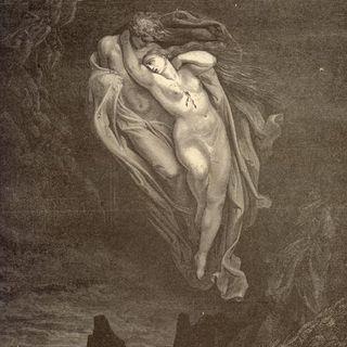 Paolo e Francesca. Canto V inferno