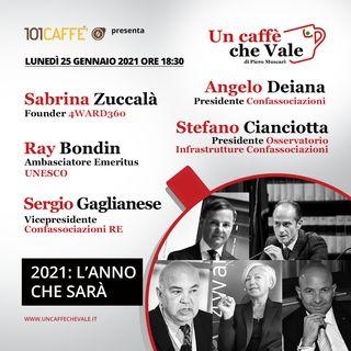 Sabrina Zuccalà, Angelo Deiana, Ray Bondin, Stefano Cianciotta e Sergio Gaglianese: 2021, l'anno che sarà