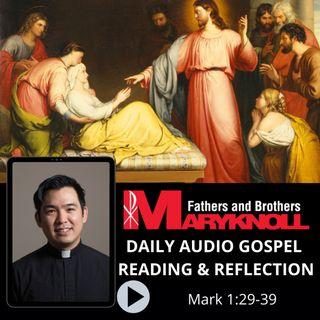 Mark 1:21-28, Daily Gospel Reading and Reflection