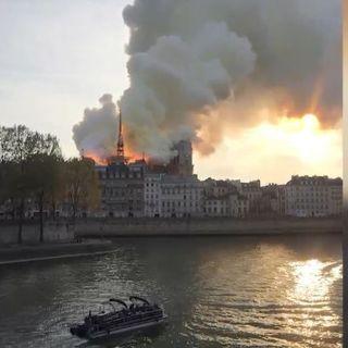 Incendio en la catedral de Notre Dame, memorándum de AMLO deja sin efectos a la Reforma Educativa y más...