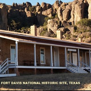 Big Blend Radio Interview: John Heiner & Eva Eldridge - Fort Davis National Historic Site in Texas
