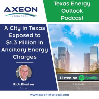 A City in Texas Exposed to $1.34 Million in Ancillary Energy Charges