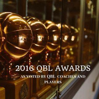 2016 Men's QBL end of season awards