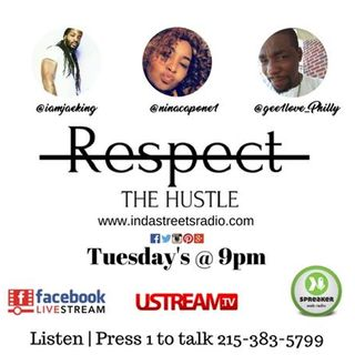 Respect The Hustle- People Empowerment Show After Labor Day! 215-383-5799