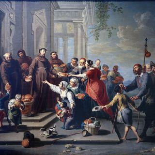 Antonius von Padua, ital. Kirchenvater (Todestag, 13.06.1231)