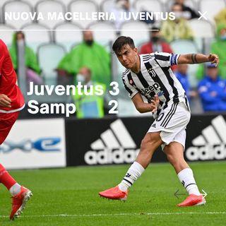 Juventus - Sampdoria: prima vittoria in casa! (ma ancora 2 gol incassati..)