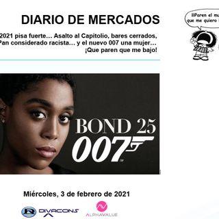 DIARIO DE MERCADOS Miércoles 3 Febrero