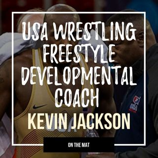 World & Olympic champion Kevin Jackson of USA Wrestling - OTM562