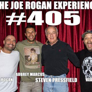 #405 - Steven Pressfield, Aubrey Marcus