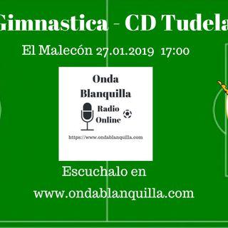 RS Gimnástica - CD Tudelano en directo