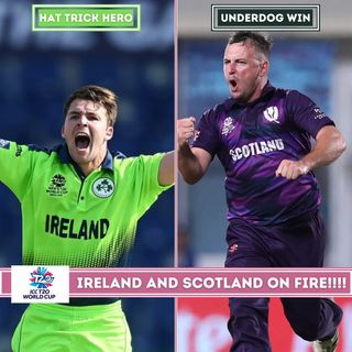 Curtis Camper 4 in 4 as Ireland beat Netherlands   Scotland shock Bangladesh   T20 Cricket World Cup 2021 Review