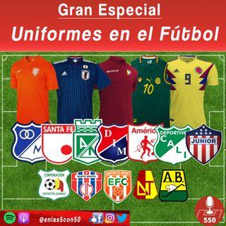 Uniformes en el fútbol