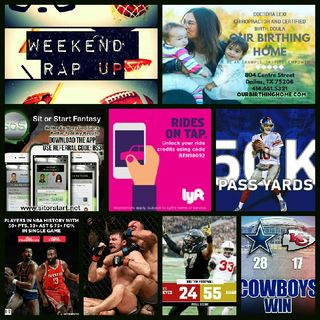 Weekend Rap Up Ep. 56: 3 In A Row