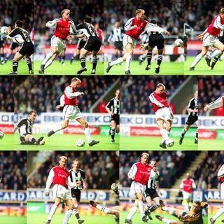 FOOTBALLER LOVE LETTERS: Dennis Bergkamp's - Greatest Ever Premier League Goal