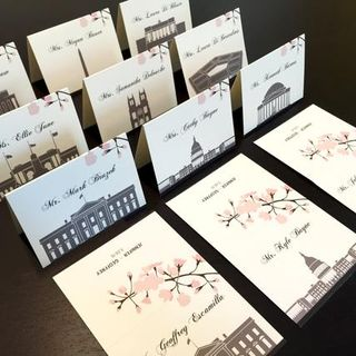 Create Beautiful Table Tent Cards with Gold and Silver Foil In UK