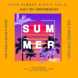105.3 WXEQ LATIN SUMMER NIGHTS VOL. 5