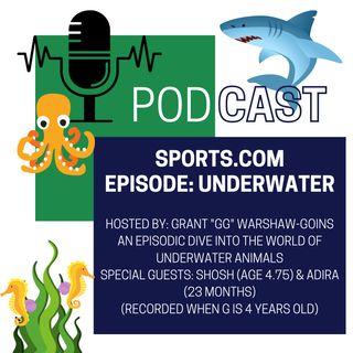 Episode 9: Underwater Animals (Special Guests, Shosh & Adira)