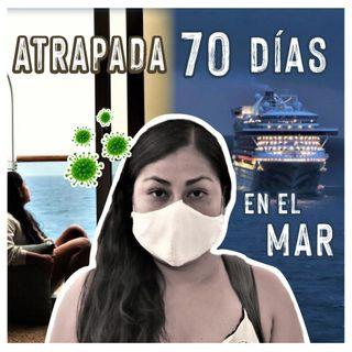 70 dias en el mar Rosa Osuna