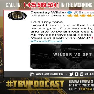 ☎️Deontay Wilder vs Anthony Joshua Fight Dead😵Wilder vs Ortiz II😱Confirmed😳