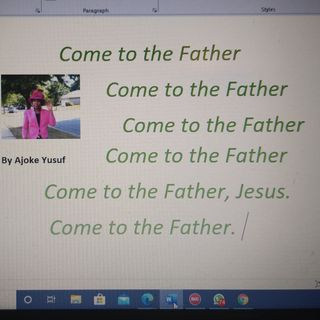 Come to the Father