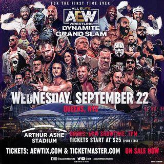 TV Party Tonight: AEW Dynamite Grand Slam (2021)