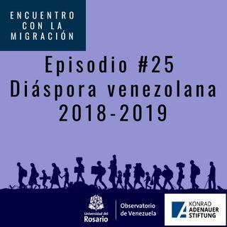 Diáspora venezolana 2018-2019