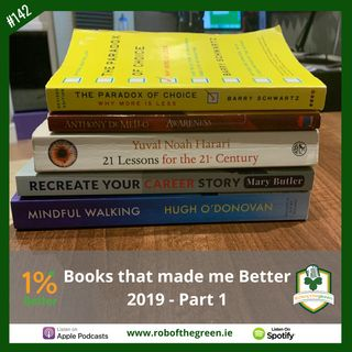 Books that made me Better in 2019 - Part1! EP142