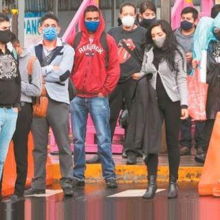 Unidades del Metrobús de Tláhuac a Coyuya se desbordan, enmedio de empujones, desesperación y estrés.