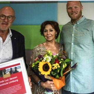 In gesprek ouders van Luc Janzen ,Gina en Theo Janzen over het Fonds Luc Janzen