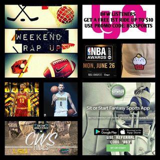 Weekend Rap Up Ep. 38: Russ 4 MVP