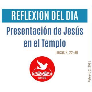 Presentación de Jesús en el Templo- San Lucas 2, 22-40