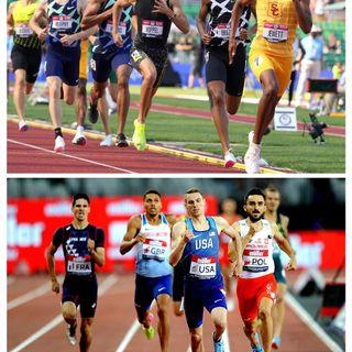 Mens Olympic 800M