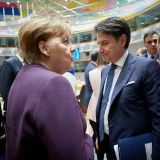 Clamorosissimo!!! Il colloquio Merkel - Conte!!!