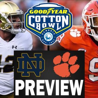 Irish Football Weekly W/Tony Hunter: Notre Dame-Clemson Preview