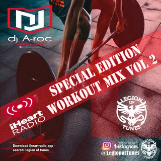 DJ A-roc Workout Mix Vol 2
