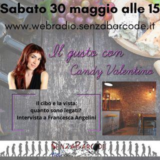 Il cibo e la vista quanto sono legati Intervista a Francesca Angelini