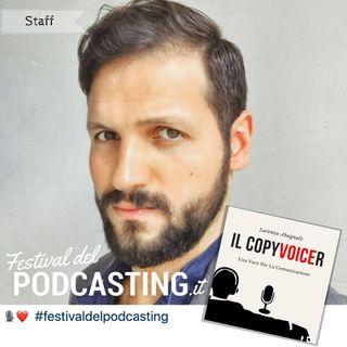 Il CopyVoicer presenterà il Festival del Podcasting 2019!