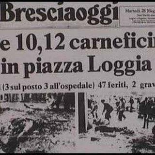Strage di Brescia 1974: audio dell'esplosione