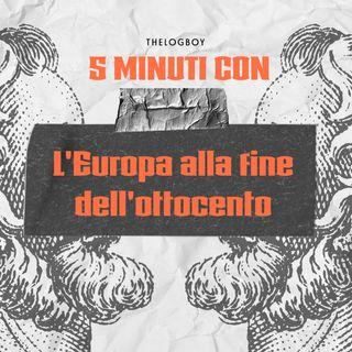 L'Europa alla fine dell'ottocento